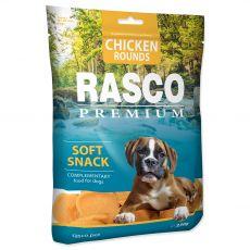 Rasco Premium Puha Snack Csirke Karikák 230 g