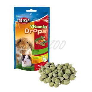 Nyúl csemege - zöldség dropsz, 75 g