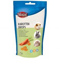 Vitamin dropsz rágcsálóknak - sárgarépa, 75 g