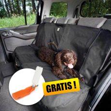 KURGO Wander Bench Seat Cover autós védőhuzat, fekete