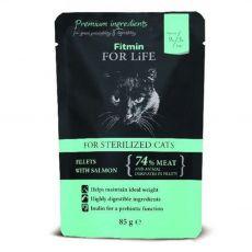Fitmin Cat For Life Ivartalanított zacskós eledel 85 g