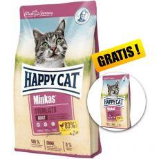 Happy Cat Minkas Sterilised 10 kg + AJÁNDÉK