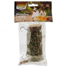 NATUREland NIBBLE Wooden herbal roll 120 g