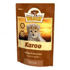 Wildcat Karoo Kitten zacskós eledel 100 g