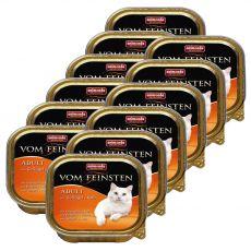 Animonda Vom Feinsten Adult Cats - baromfi és borjú 12 x 100g
