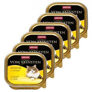 Animonda Vom Feinsten Senior - baromfi 6 x 100 g