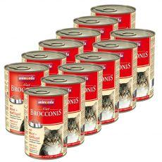 Animonda Cat BROCCONIS marha és baromfi 12 x 400 g