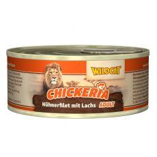 Wildcat Chickeria Chicken & Salmon konzerv 90 g