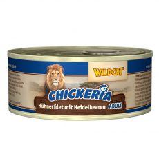 Wildcat Chickeria Chicken & Blueberry konzerv 90 g