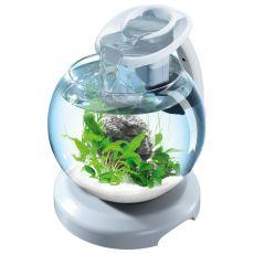 Tetra Duo Waterfall Globe akvárium, fehér 6,8 L