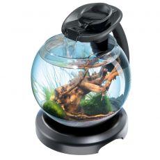 Tetra Duo Waterfall Globe akvárium, fekete 6,8 L