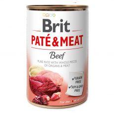 Brit Paté & Meat Beef konzerv 400 g