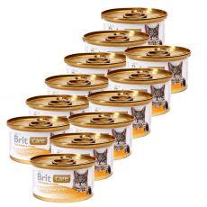 Brit Care Cat Tuna, Carrot & Pea konzerv 12 x 80 g