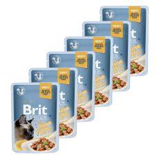 BRIT Premium Cat Delicate Fillets in Gravy with Tuna alutasakos eledel 6 x 85 g
