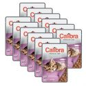 CALIBRA Cat Kitten lazac darabok szószban 12 x 100 g