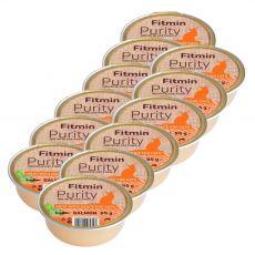 Fitmin Cat Purity lazac tálcás eledel 12 x 85 g