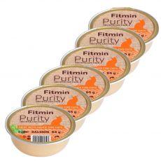 Fitmin Cat Purity lazac tálcás eledel 6 x 85 g