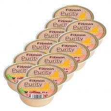 Fitmin Cat Purity csirke tálcás eledel 12 x 85 g