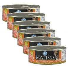 Farmina MATISSE cat Chicken 6 x 85 g, 5+1 GRÁTISZ