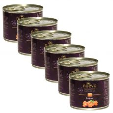 NUEVO CAT Adult Salmon konzerv 6 x 200 g