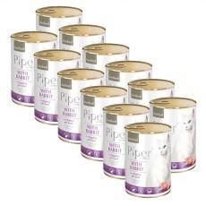 Piper Cat Sterilised konzerv nyúlhússal 12 x 400 g