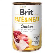 Brit Paté & Meat Chicken konzerv 400 g