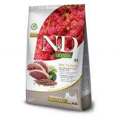 Farmina N&D dog GF QUINOA ADULT MINI Neutered kacsa 2,5 kg