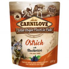 Carnilove Ostrich with Blackberries 300 g