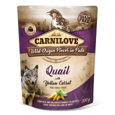 Carnilove Quail with Yellow Carrot 300 g