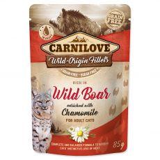 Carnilove Cat Wild Boar with Chamomile 85 g
