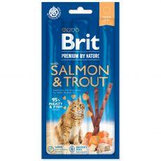 Brit Premium Cat Sticks Salmon & Trout 3 db