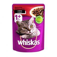 Whiskas marha zacskós eledel 100 g