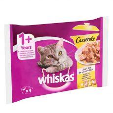 Whiskas Casserole szárnyashús válogatás zselében 4 x 85 g