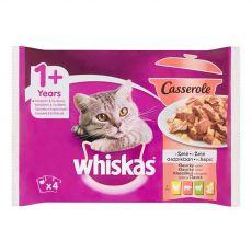 Whiskas Casserole Classic válogatás kocsonyában 4 x 85 g