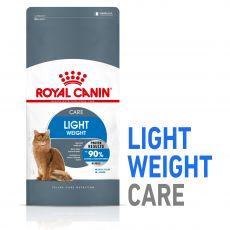 Royal Canin LIGHT WEIGHT CARE - táp inaktív cicáknak, 1,5 kg