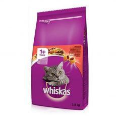 Whiskas marha 3,8 kg