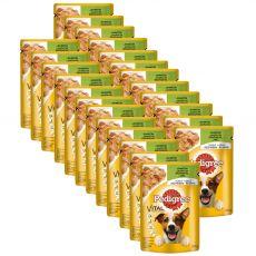 Pedigree zacskós eledel báránnyal kocsonyában 24 x 100 g