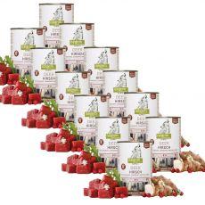 ISEGRIM Adult Forest: Szarvas csicsókával, vörös áfonyával és gyógynövényekkel 12 x 400 g