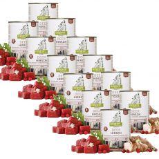 ISEGRIM Adult Forest: Szarvas csicsókával, vörös áfonyával és gyógynövényekkel 12 x 800 g