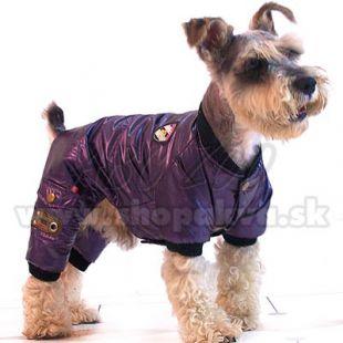 Overál kutyáknak, télre - lila, XS