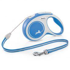 Flexi NEW COMFORT póráz S 12 kg -ig, 8 m kötél – kék