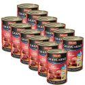 Gran Carno Fleisch Junior marhahúsos pulykaszív kutyakonzerv 12 x 400g