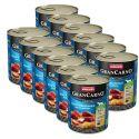 GranCarno Fleisch Adult konzerv füstölt angolna+burgonya - 12 x 800g