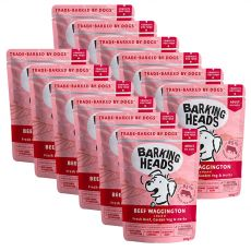 BARKING HEADS Beef Waggington GRAIN FREE 12 x 300 g