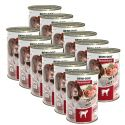 New BEWI DOG konzerv – Borjúhúsos, 12 x 400g