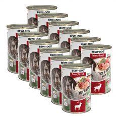 New BEWI DOG konzerv – Wild, 12 x 400g