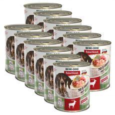 New BEWI DOG konzerv – Wild, 12 x 800g