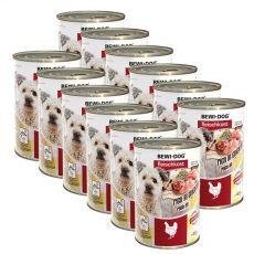 New BEWI DOG konzerv – Csirke, 12 x 400g