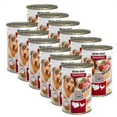 New BEWI DOG konzerv – Baromfi, 12 x 400g