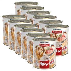 New BEWI DOG konzerv – Baromfi, 12 x 800g